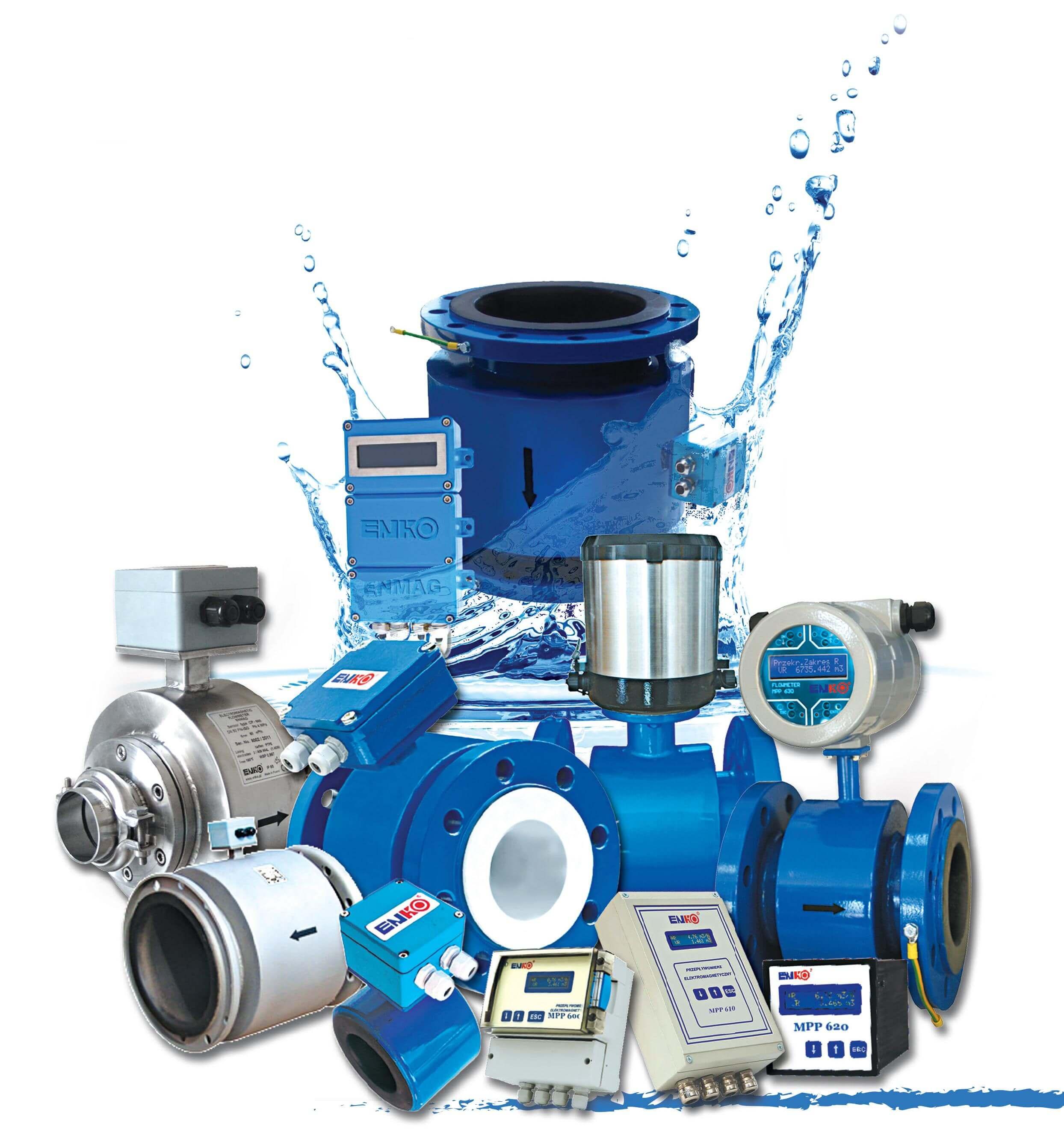 Niezawodne przepływomierze wody od firmy Enko-Pomiar